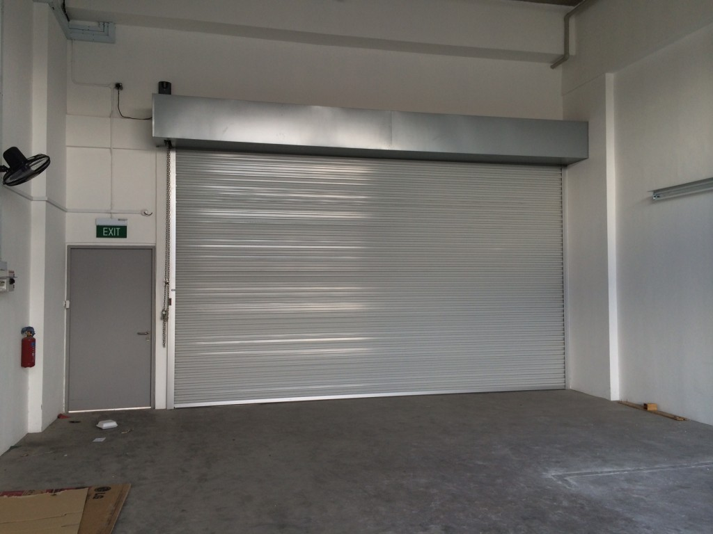 Pioneer Centre Motorised Shutter 4mX3m